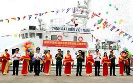 ẢNH+VIDEO: Cảnh sát biển Việt Nam tiếp nhận cùng lúc 3 tàu hiện đại