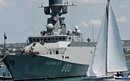 """Những chiến hạm mới nhất của Nga """"xuất đầu lộ diện"""""""