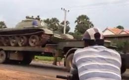 Campuchia: Xe tăng được chuyển ồ ạt về gần thủ đô Phnom Penh