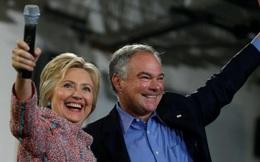 """Bà Hillary Clinton chính thức chọn ông Tim Kaine làm """"phó tướng"""""""