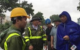 Phó Chủ tịch TP Hà Nội chỉ đạo khẩn trương khắc phục hậu quả mưa bão