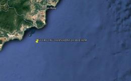 1 tàu chìm, 2 thuyền viên mất tích trên biển Vũng Tàu