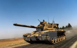 Xe tăng của Thổ Nhĩ Kỳ tràn sang lãnh thổ Syria để chống IS