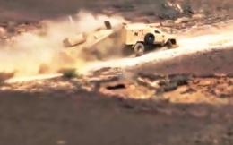 Vội vã rút lui, xe tăng Ả Rập Saudi tông trúng xe đồng đội ở Najran