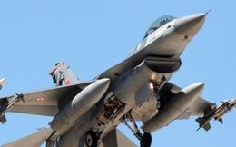 Máy bay chiến đấu của Thổ Nhĩ Kỳ phá nát kho đạn ở Syria