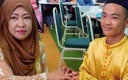 Xôn xao đám cưới giữa trai tân 18 tuổi và bà mẹ 5 con 42 tuổi