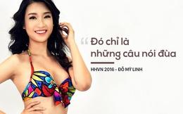 """Hoa hậu Mỹ Linh lên tiếng về scandal """"chửi"""" đội tuyển Việt Nam"""