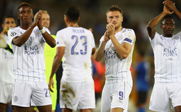 Leicester gây sốc trong lần đầu đá Champions League