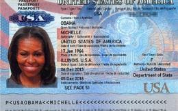 Tin tặc tung hộ chiếu nghi của đệ nhất phu nhân Mỹ Michelle Obama