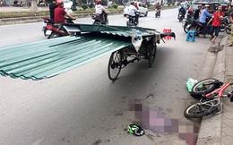 Thêm một nạn nhân chết do bị tấm tôn cứa cổ