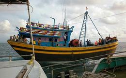 Bình Thuận: Bị phát hiện vi phạm, đạp 3 cán bộ bảo vệ nguồn lợi thủy sản xuống biển