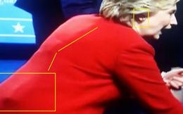 Thuyết âm mưu bà Clinton dùng thiết bị gian lận trong buổi tranh luận với Trump