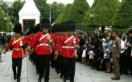 [CHÙM ẢNH] Thái Lan cử hành lễ đón linh cữu Quốc vương Bhumibol Adulyadej