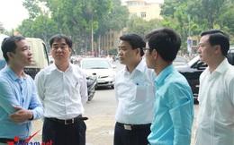 Chủ tịch HN thị sát nhà vệ sinh công cộng giữa trưa