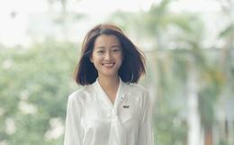 MC Quỳnh Chi tự tin đọ sắc với Hoa khôi bóng chuyền