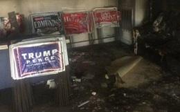 Văn phòng đảng Cộng hòa bị phóng hỏa, Trump đổ lỗi cho phe Dân chủ