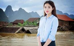 Ai cũng giật mình trước số tiền Hoa hậu Kỳ Duyên ủng hộ đồng bào miền Trung