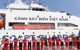 Bàn giao tàu cảnh sát biển đa năng 8004: Chiếc tàu DN-2000 hiện đại thứ 3
