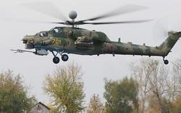 """Trực thăng chiến đấu Mi-28N của Nga tiếp nhận """"song kiếm"""""""