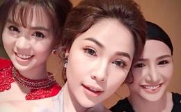 """Ngọc Trinh diện đầm đính hàng nghìn viên pha lê trên thảm đỏ """"Hoa hậu Hàn Quốc"""""""