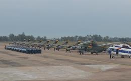 Trường Sĩ quan Không quân tổ chức thành công ban bay mẫu tại Trung đoàn 910