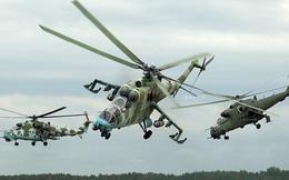 Ấn Độ hoàn tất chuyển giao trực thăng Mi-24 cho Afghanistan