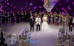 Đám cưới hoành tráng và xa xỉ bậc nhất Hà Thành của MC Mai Ngọc