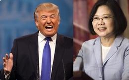 Phá chính sách ngoại giao, Trump điện đàm lãnh đạo Đài Loan