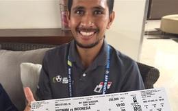 Vé vào sân Mỹ Đình xem AFF Cup xuất hiện ở Indonesia