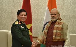 Đoàn cán bộ quân sự cấp cao Việt Nam tiếp tục chuyến thăm và làm việc tại Ấn Độ