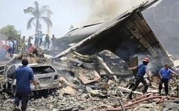 Rơi máy bay quân sự Indonesia, 13 người thiệt mạng