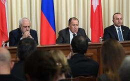 Đàm phán 3 bên về tình hình Syria tại thủ đô Moscow, Nga