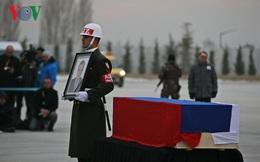 Lễ Tiễn biệt Đại sứ Nga tại Thổ Nhĩ Kỳ về nước