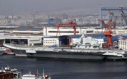 Tàu sân bay Liêu Ninh của Trung Quốc đi qua vùng biển phía Nam Đài Loan