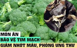 Bất ngờ khi trên mâm cơm người Việt luôn có một món ăn bảo vệ tim mạch và giảm nhớt máu!
