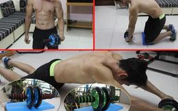 """""""Phát sốt"""" với dụng cụ thể thao giảm mỡ bụng thần tốc"""