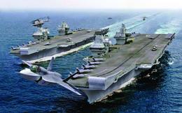 """Sau 4 thập kỷ, TQ """"phát sốt"""" khi cường quốc hải quân lâu đời nhất thế giới trở lại châu Á?"""