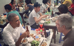 Quán bún chả đón ông Obama sáng nay đông bất ngờ