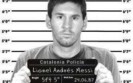 Ảnh chế Messi đi tù tràn ngập Internet
