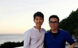 """Sau thành công của """"Hậu duệ mặt trời"""" Song Joong Ki trông gầy gò đến xót xa"""