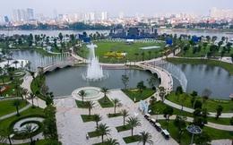 Toàn cảnh công viên 500 tỷ đồng ven sông Sài Gòn