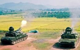 Xem pháo phòng không ZSU-23-4 Việt Nam huấn luyện