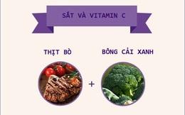"""Đây là những """"công thức"""" kết hợp thực phẩm """"chuẩn không cần chỉnh"""" tốt cho sức khỏe"""