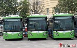 Ngắm dàn xe buýt nhanh hiện đại nhất của Thủ đô chờ ngày lăn bánh