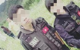 Học sinh cấp 3 giả cảnh sát cơ động lừa các em nhẹ dạ cả tin