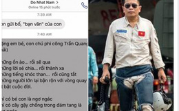 Xúc động bài thơ Đỗ Nhật Nam tặng con gái Đại tá Trần Quang Khải