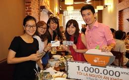 Quán ăn Huế thưởng 1 triệu đồng cho thực khách