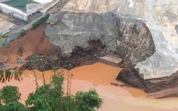 Vỡ đường ống thủy điệnSông Bung 2: Hàng chục người mất tích