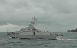 Vùng 5 Hải quân: Lữ đoàn 127 kiểm tra bắn đạn thật trên biển