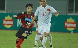 Cầu thủ Nhật nhỏ bé bên cạnh U19 Việt Nam